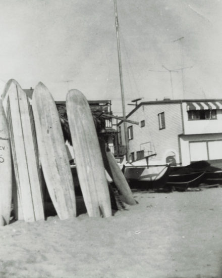 Surf Shack at 21st Street, Hermosa Beach-1954